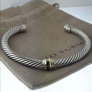 David Yurman single station sapphire bracelet